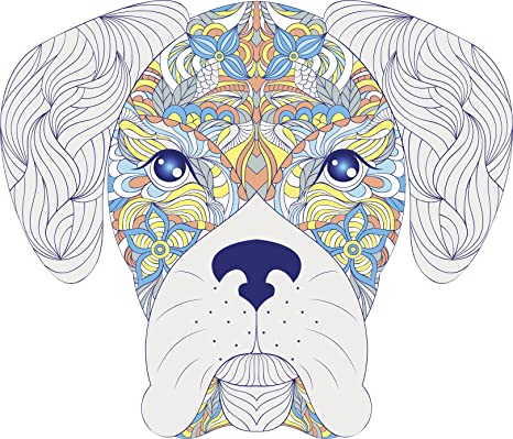 Amazon.com: Pretty Henna Patrón Puppy Dog – Libro para ...