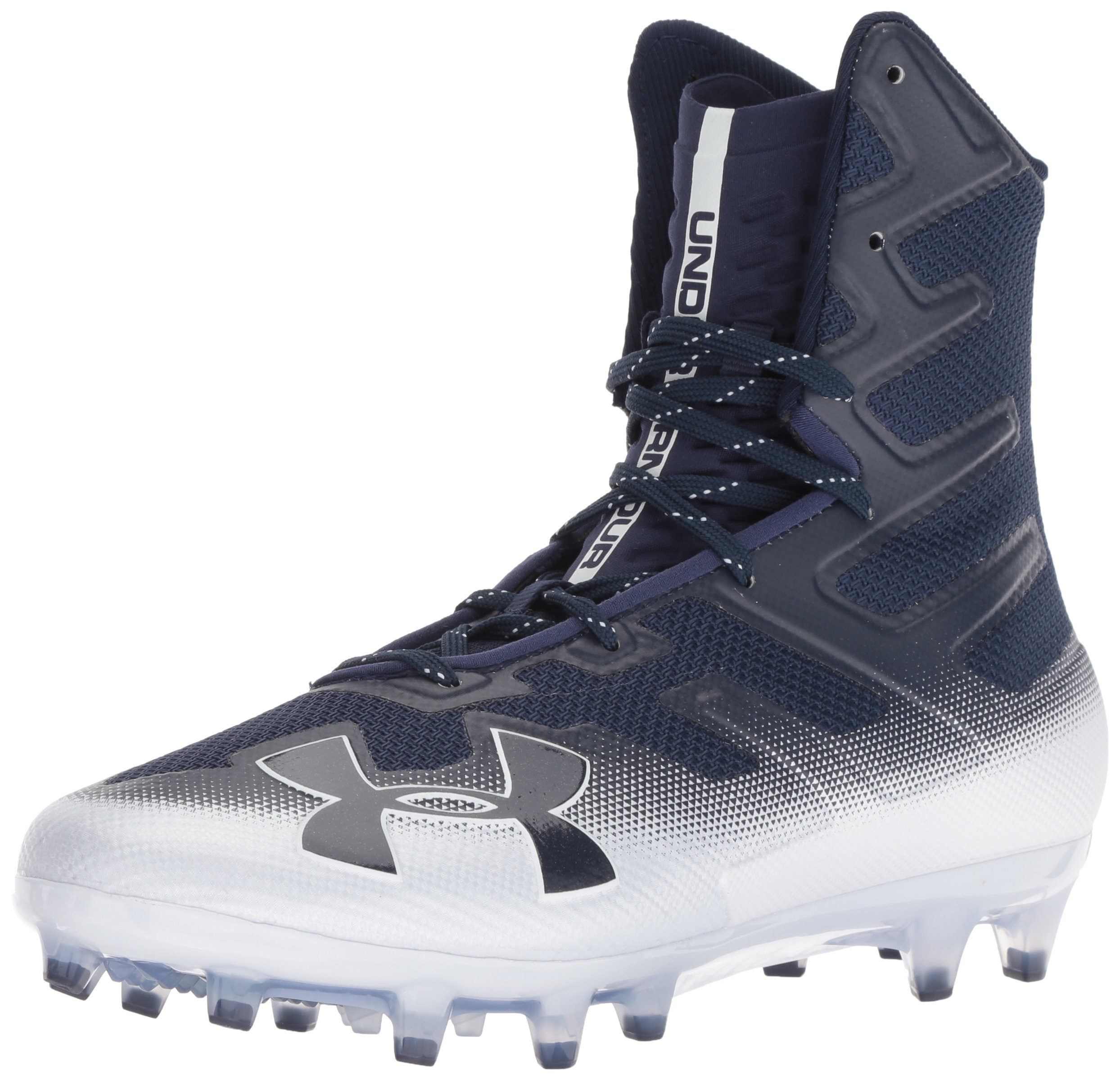 Under Armour Men's Highlight MC Football Shoe Midnight Navy (402)/White 6.5