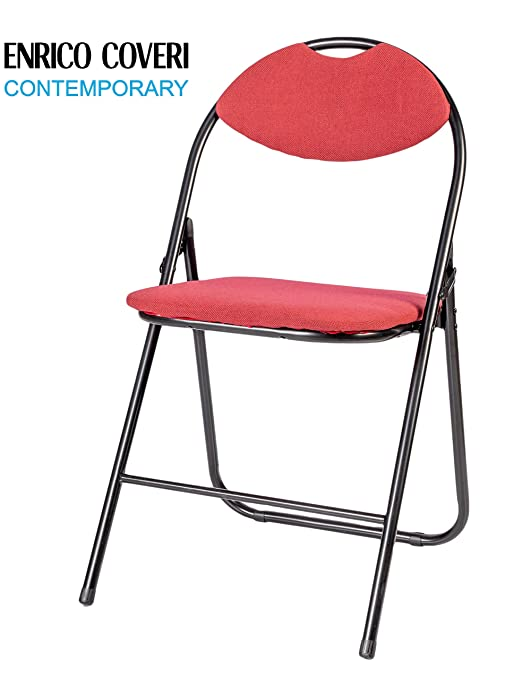 Enrico Coveri Contemporary Silla Plegable cómodas Metal y ...