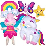 Sewing Kit for Kids - Unicorn Wonderland Learn to Sew Magical Projects - Beginner Sewing Kit for Girls 7 8 9 10 11 12 yrs - S