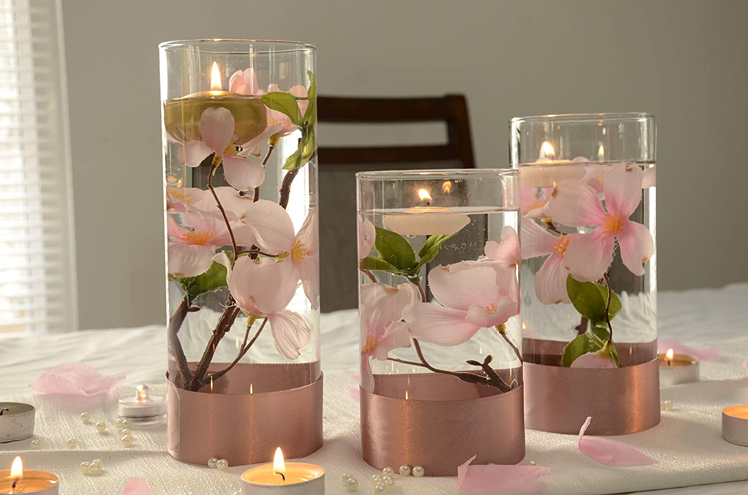 Amazon Com Bridal Table Centerpiece Sweetheart Table Flowers