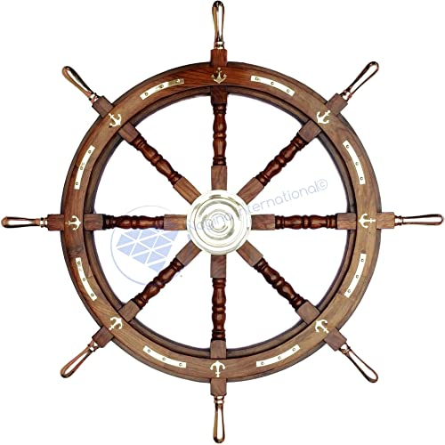 "Nagina International 36"" Nautical Ship Wheel"