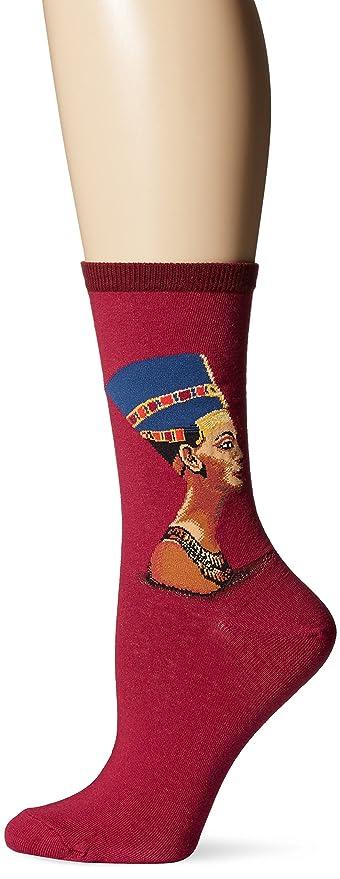 Women/'s Nefertiti Socks Raspberry