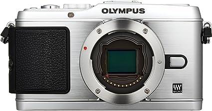 Olympus Pen E P3 Systemkamera 3 Zoll Gehäuse Silber Kamera