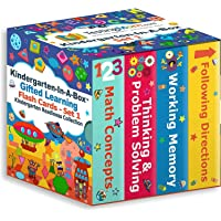 TestingMom.com Kindergarten-in-A-Box - Gifted Learning Flash Cards Bundle (Set 1) - Thinking/Problem Solving, Following…