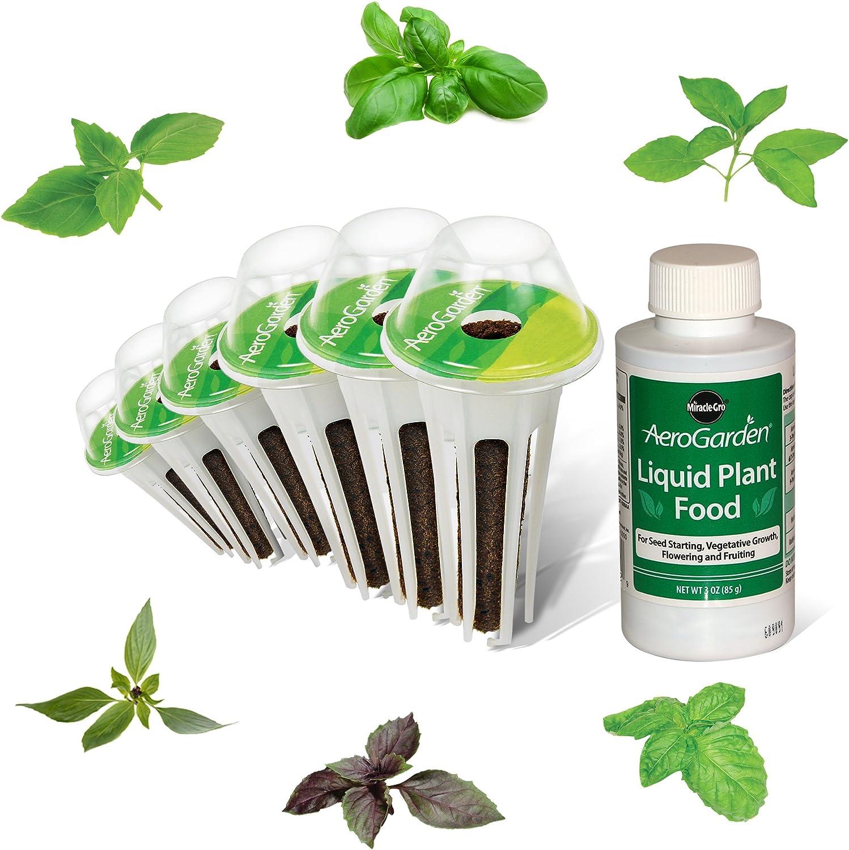 AeroGarden International Basil Seed Kit (6 pod)