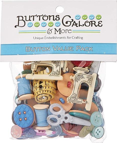 Botones Galore Patrones de Costura para diseño de botón de ...