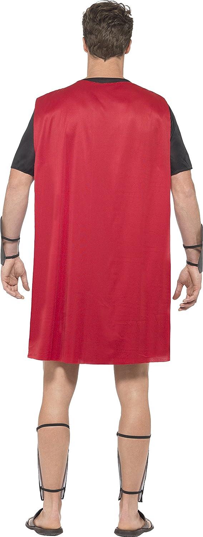 Smiffys 45495S D é guisement Homme Gladiateur Romain, Noir, Taille S ... 2c5a732ba55