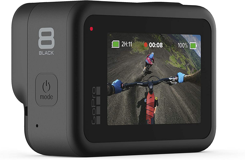GoPro HERO8 Black 4K Waterproof Action Camera - Black (Renewed) : Camera & Photo