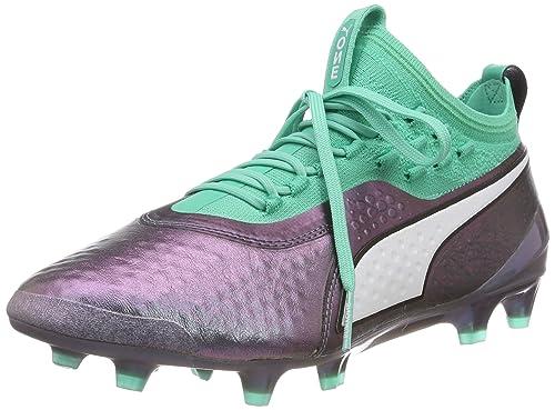 2f3e8fecfbb2 Puma Men s One 1 Il LTH Fg Ag Footbal Shoes  Amazon.co.uk  Shoes   Bags