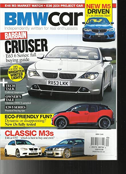 Amazon Com Bmw Car Magazine Independently Written For Real