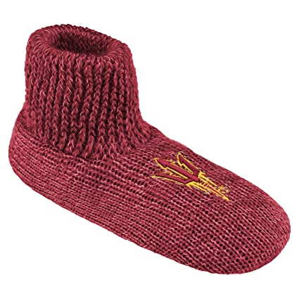Women's Arizona State Sun ... Devils Striped Boot Slippers cheap sale tumblr EI3Jy3L2D