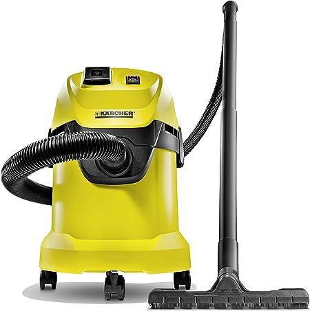 Kärcher WD3P - Aspirador de agua y polvo (1000 W): Amazon.es: Hogar