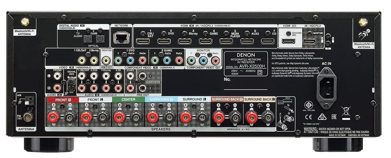 Denon AVR-X2500H - Sintoamplificatore 7.2