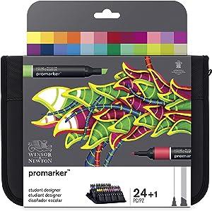 Winsor & Newton Promarker, Set of 24, Student Designer