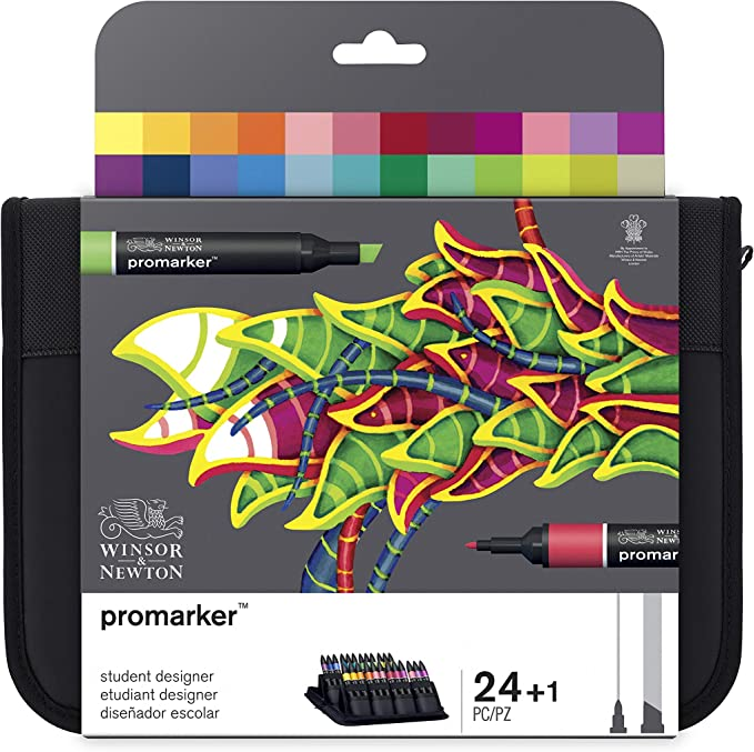 mejores rotuladores promarker winsor and newton