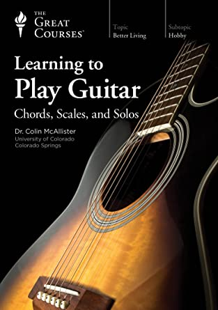 Amazon Learning To Play Guitar Chords Scales And Solos