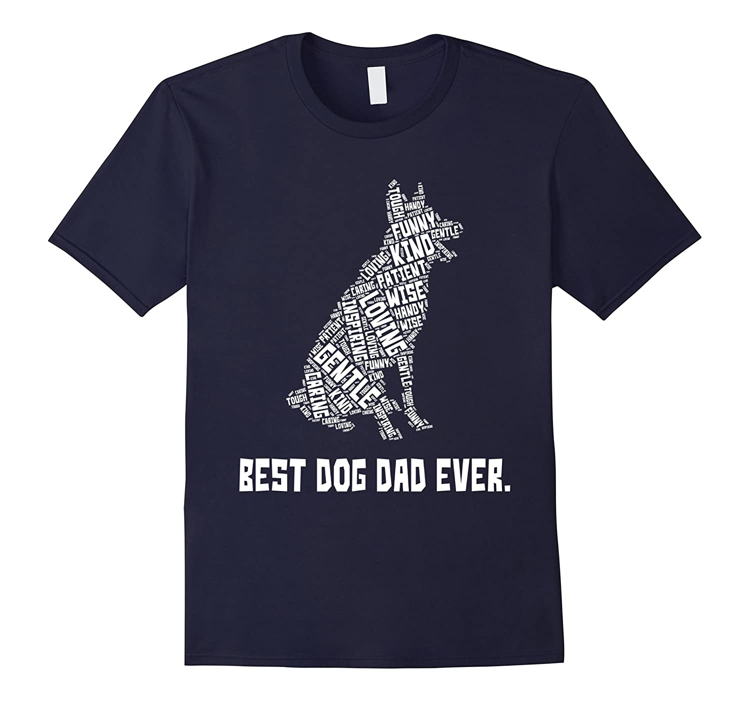 Best Dog Dad Ever Fathers Day T-shirt for Dog Lovers-PL