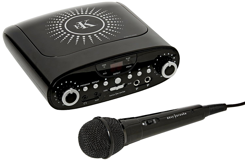 Easy Karaoke Karaoke Machine - Silver (554078666) EKG88BK