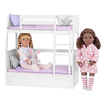 Our Generation 44711 Dream Bunks Bunk Bed Set For Dolls Amazon Co