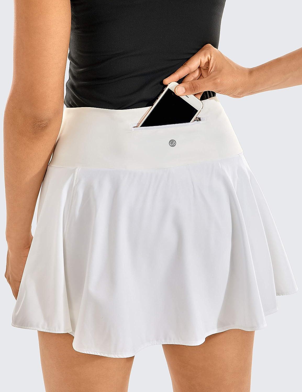CRZ YOGA Falda de Tenis Pantalón Corto Deportivo Skorts de Golf ...