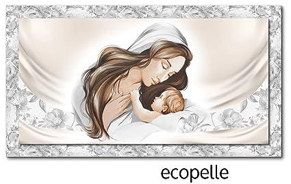 Quadro religioso Capezzale capoletto 152x82 maternità ...