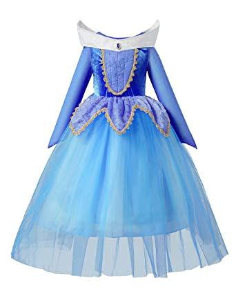 bc6fef5f8fd aibeiboutique Sleeping Beauty Princess Aurora Party Girls Costume Dress (2-3  Years)
