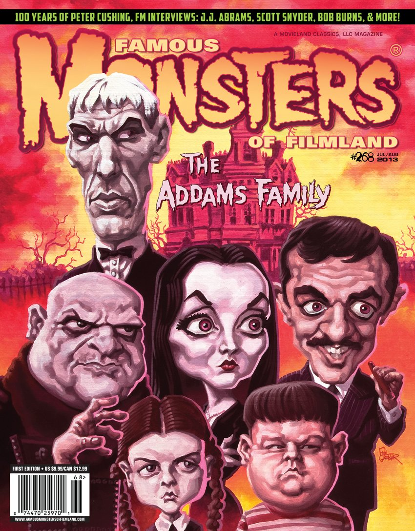 Download Famous Monsters #268 Addams Family pdf epub