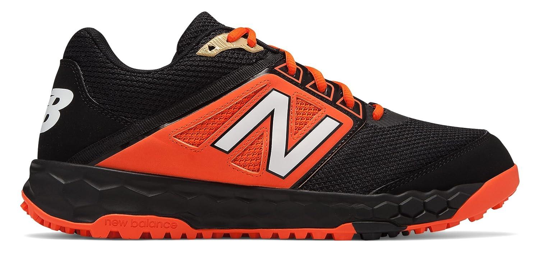 [New Balance(ニューバランス)] 靴シューズ メンズ野球 3000v4 Turf Black with Orange ブラック オレンジ US 8 (26cm) B07FS1VNFS