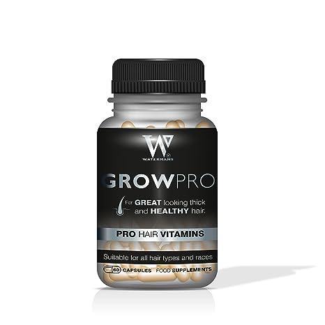 Mejor pelo Vitaminas – GrowPRO – crecimiento del cabello complementos – Bloqueador de DHT para hombres