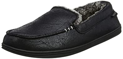 Mens Distressed Moccasin Low-Top Slippers Isotoner cYt6DD