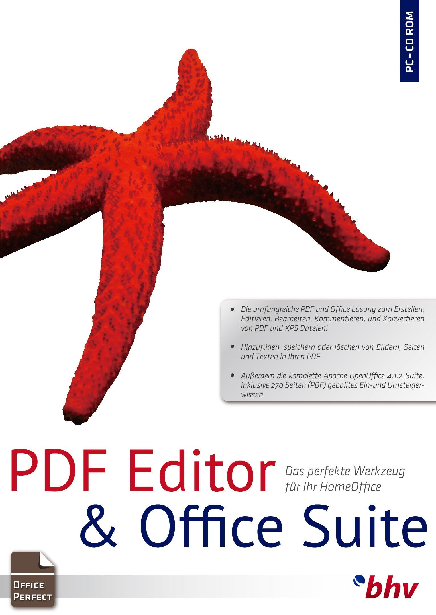 PDF Editor & Textverarbeitung  Für Windows 10, 8, 7 (32