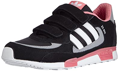 adidas ZX 850, Girls\u0027 Running Shoes, Multicolor (Cblack/Ftwwht/Vispnk