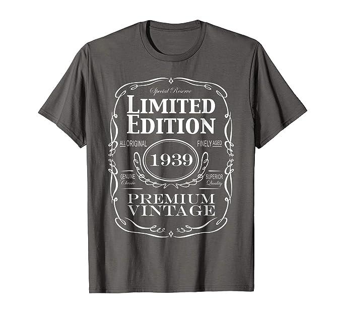 Mens 80th Birthday Gift T Shirt