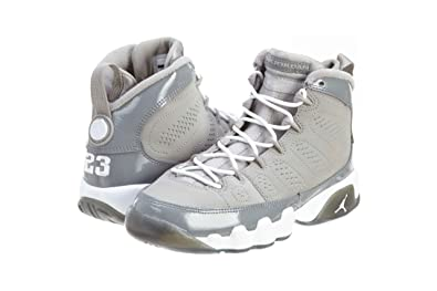watch ff82d 9b4a3 Image Unavailable. Image not available for. Color  Air Jordan 9 Retro (GS) Cool  Grey ...