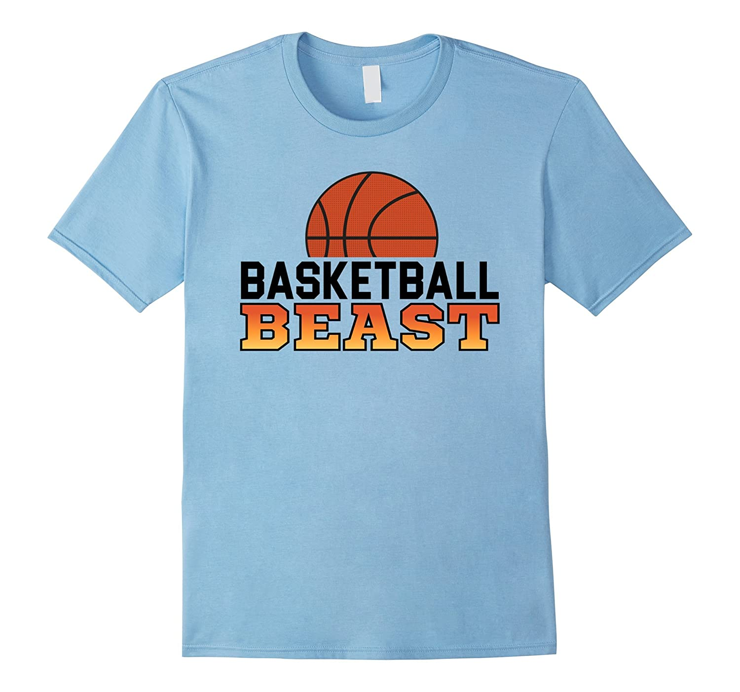 Basketball Beast Basketball Champion T-Shirt-Art