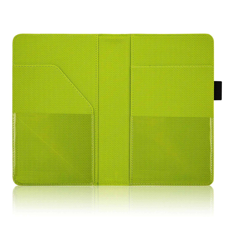 Guest Check Book Holder Money Pocket Fit Server Apron Twill503-Green ACdream Waiter Book Server Wallet Server Pads Waitress Book Restaurant Waitstaff Organizer