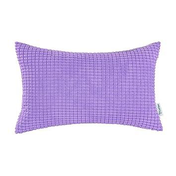 Amazon.com: CaliTime Cozy Funda de almohada para sofá, cama ...