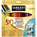 Sargent Art Premium Coloring Pencils 50-Count