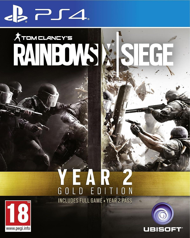 Rainbow Six Siege Gold Season 2 (PS4): Amazon co uk: PC & Video Games
