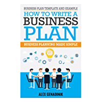 Business plan template and example: how to write a business plan: Business planning made simple (English Edition)