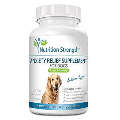 Nutrition Strength Dog Anxiety Relief Supplement