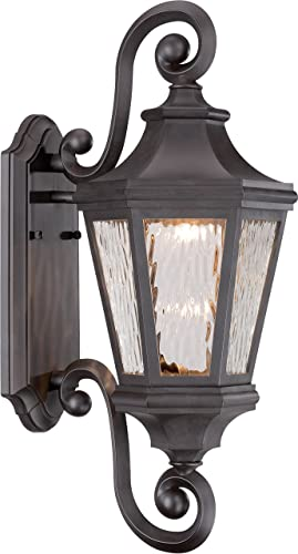 Minka Lavery Outdoor Wall Light 71822-143-L Hanford Pointe Exterior LED Wall Lantern, Oil Rubbed Bronze