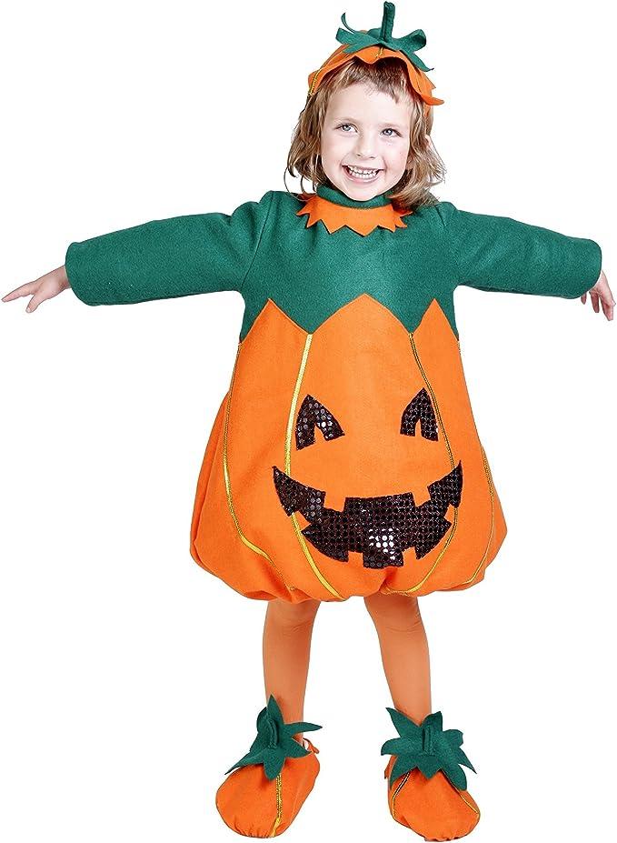 Disfraz de calabaza para niña: Amazon.es: Juguetes y juegos