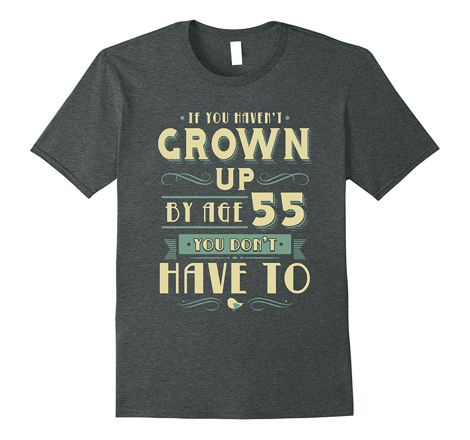 55th Birthday TShirt for 55-Year-Old Baby Boomer-TH