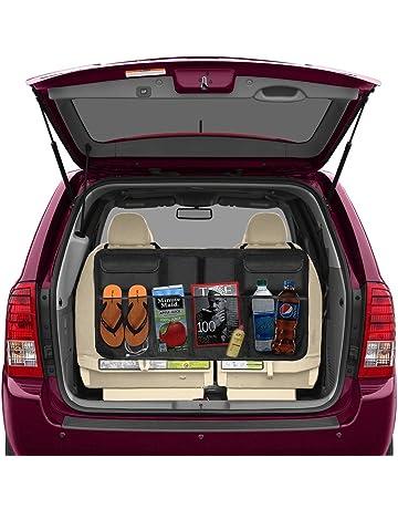 Beepzoo - Organizador para asiento trasero de coche, accesorios de carga, ahorro de espacio