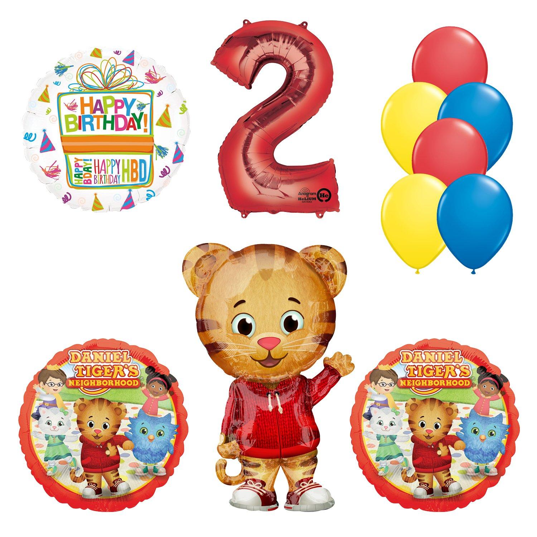 Amazon Daniel Tiger Neighborhood 2nd Birthday Party Supplies