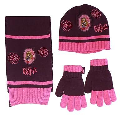 Bratz - Ensemble bonnet, écharpe et gants - Fille violet  Amazon.fr ... 74b7adcbff7