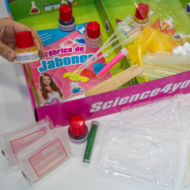 Science4you-398481 Science4you-Fabrica de jabones-Juguete científico y Educativo (398481): Amazon.es: Juguetes y juegos