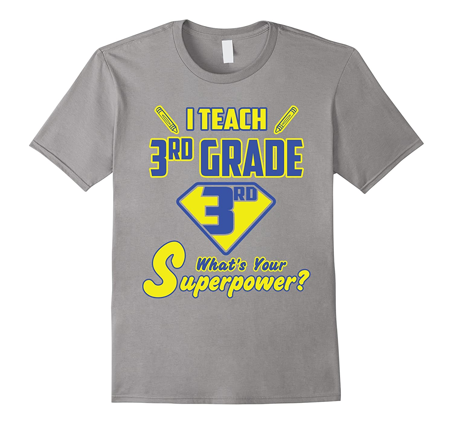 2 Sided Superhero I Teach 3rd Grade Whats Your Superpower?-Vaci
